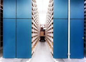Document Storage Shelving