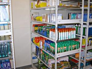 Phamacy Stockroom Shelving