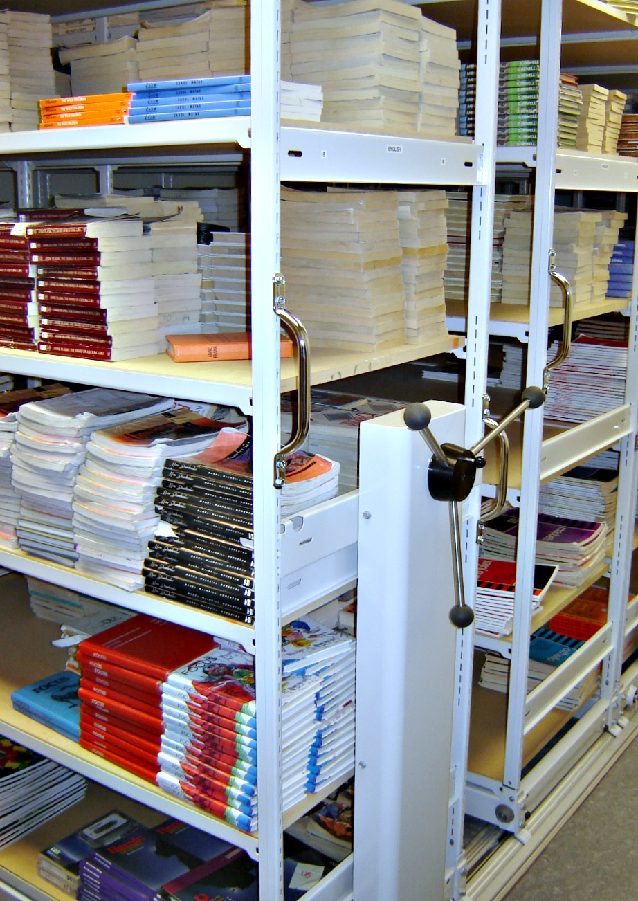 Mobile Document Shelving