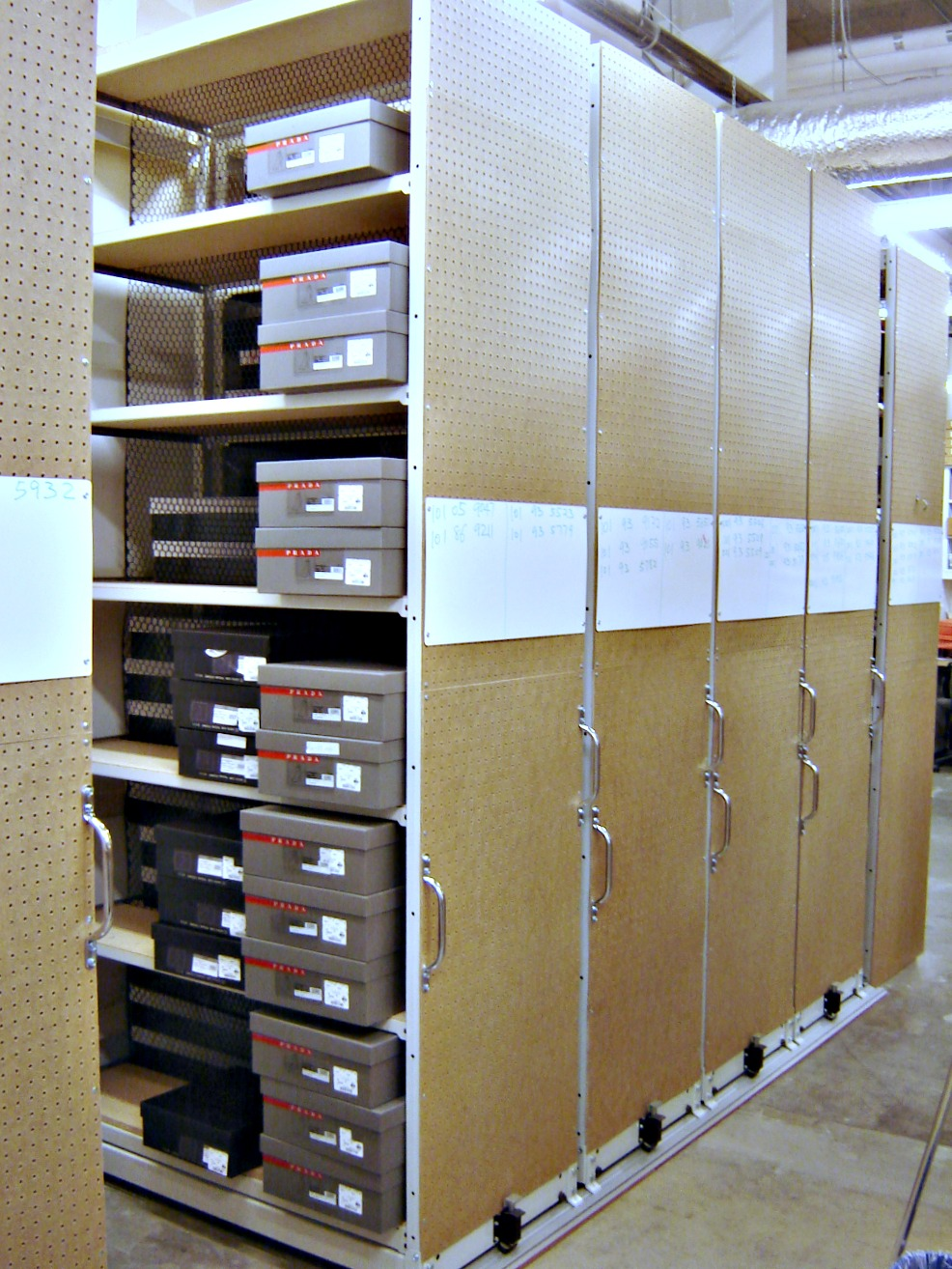 Mobile Shelving Solutions 171 E Z Rect Manufacturing Ltd