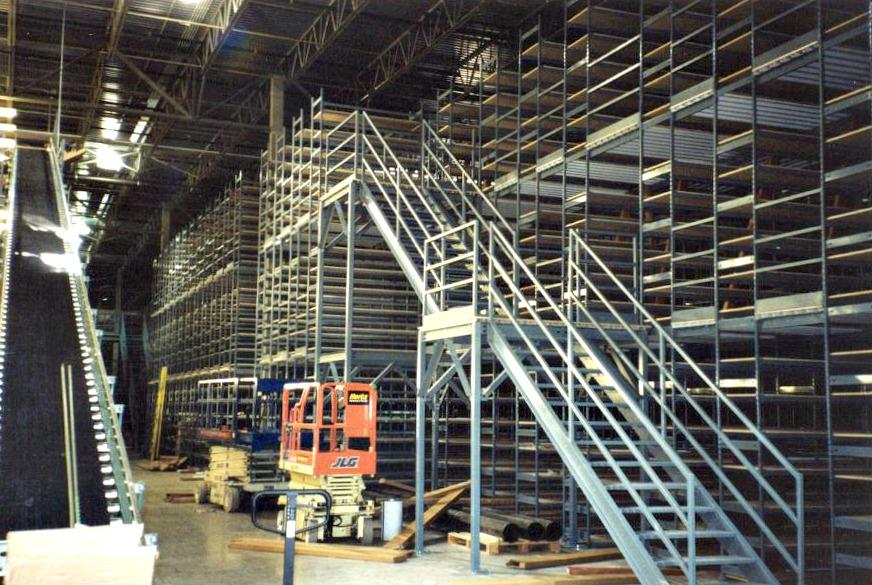 Multi-Level Shelving « E-Z-Rect Manufacturing Ltd